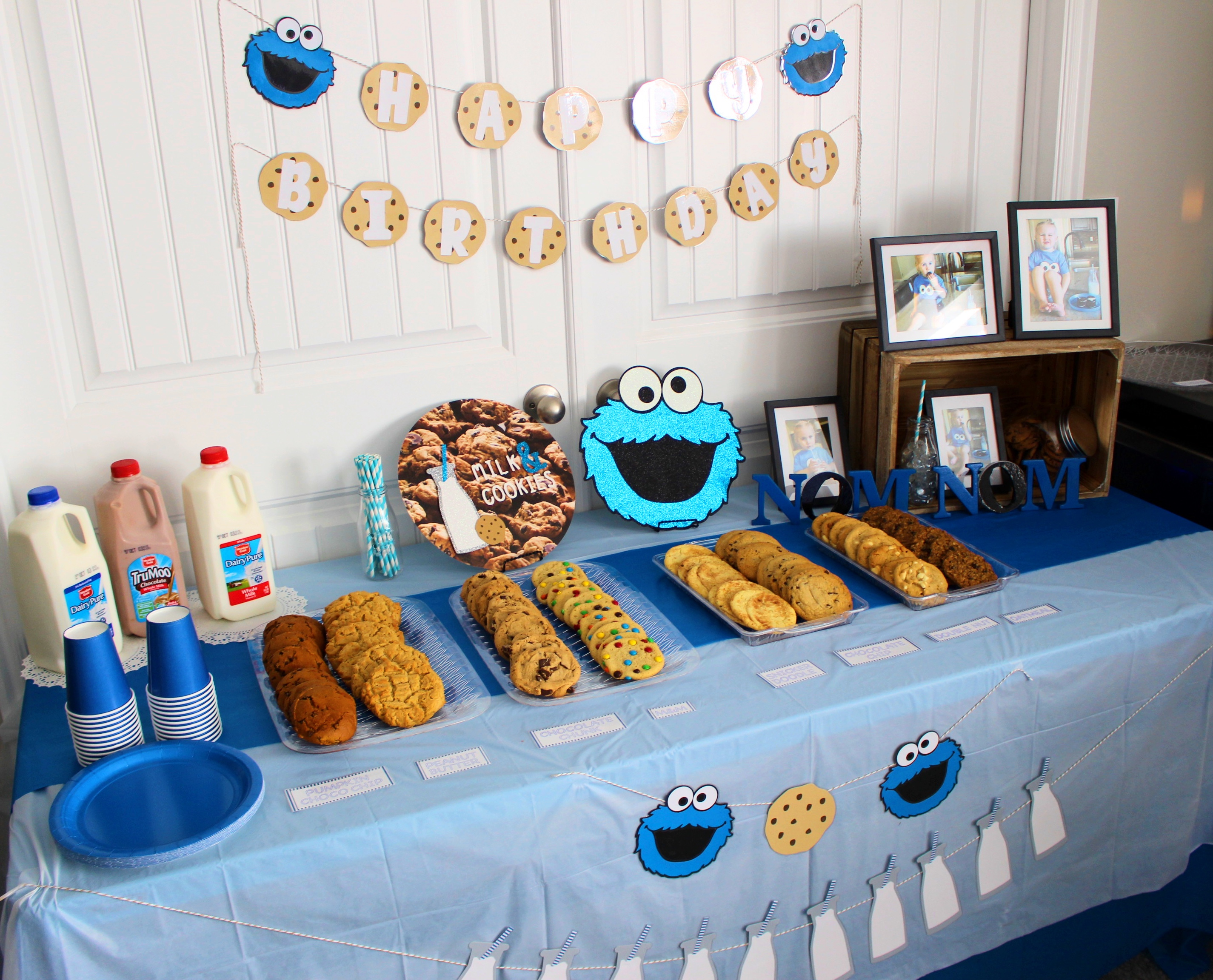 Cookie Monster Birthday Party - Hammond House